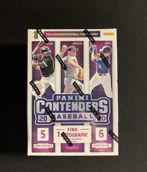 FACTORY SEALED 2020 PANINI CONTENDERS BASEBALL DRAFT PICKS! 1 AUTOGRAPH GURANTEED for Sale in Tampa, FL