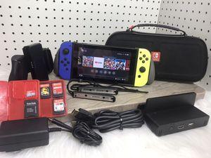 Nintendo Switch Bundle w Games & Accessories for Sale in Albuquerque, NM
