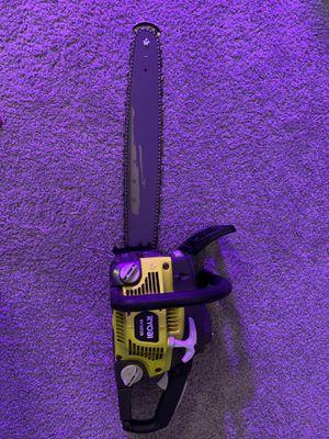 Motosierra ryobi / chainsaw for Sale in Houston, TX