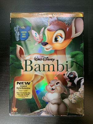 Bambi Dvd for Sale in Menifee, CA