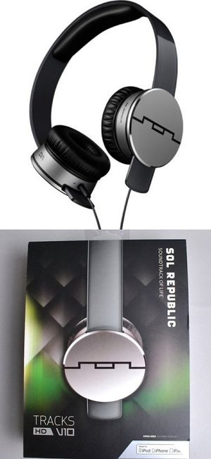 New in box Sol Republic Tracks HD V10 headphone headset works for IOS ipad iphone android Amazing Sound m for Sale in Montebello, CA
