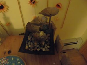 Water fountain, indoor use, environment friendly, great mediation, for Sale in West Boylston, MA