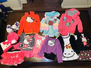 Hello Kitty Lot of Girls 3t-5 Clothes for Sale in Gresham, OR