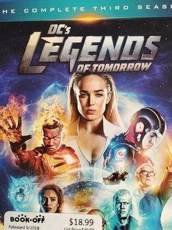 Legends Of Tomorrow Third Season Box DVD set for Sale in Brooklyn, NY