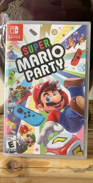 Nintendo Switch games - Super Mario Party for Sale in Las Vegas, NV