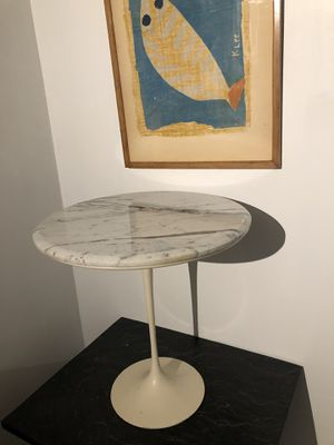 VTG Authentic Knoll Saarinen Tulip Table Marble Top Complete Early Great Patina. for Sale for sale  Jersey City, NJ