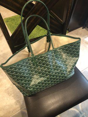 Goyard tote green for Sale in Houston, TX