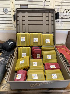 Ammo box and shell storage box's for Sale in Wichita, KS