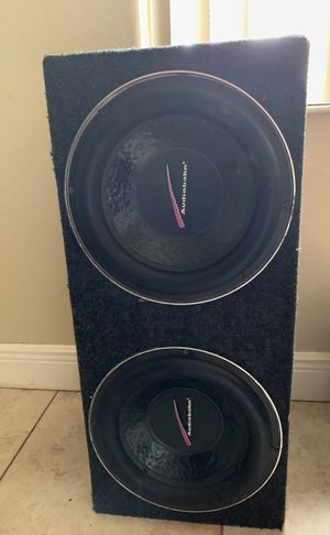 Car subwoofers for Sale in Miami, FL