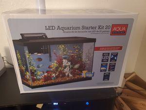 Aqua Culture LED Aquarium Starter Kit-20 Gallon for Sale in Vancouver, WA