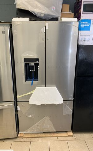 KitchenAid counter depth stainless steel French door refrigerator for Sale in Sterling Heights, MI