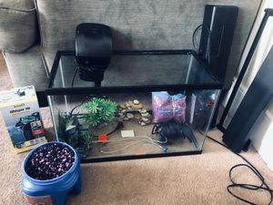 10 gallon complete fish tank set for Sale in Bristol, PA