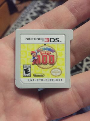 Mario party the top 100 for 3DS/2DS for Sale in Puyallup, WA