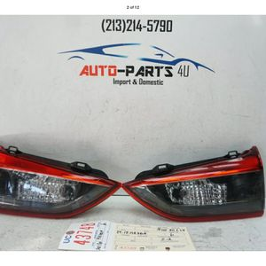 2014 2017 MAZDA 6 LEFT AND RIGHT INNER TAIL LIGHT OEM 2015 2016 UC43748 for Sale in Compton, CA