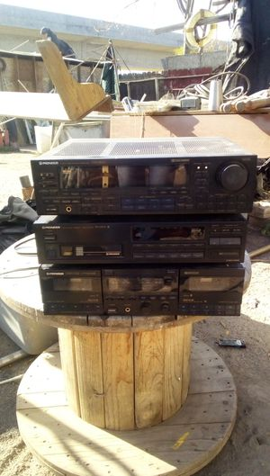 Pioneer audio video stereo reciever for Sale in Fresno, CA