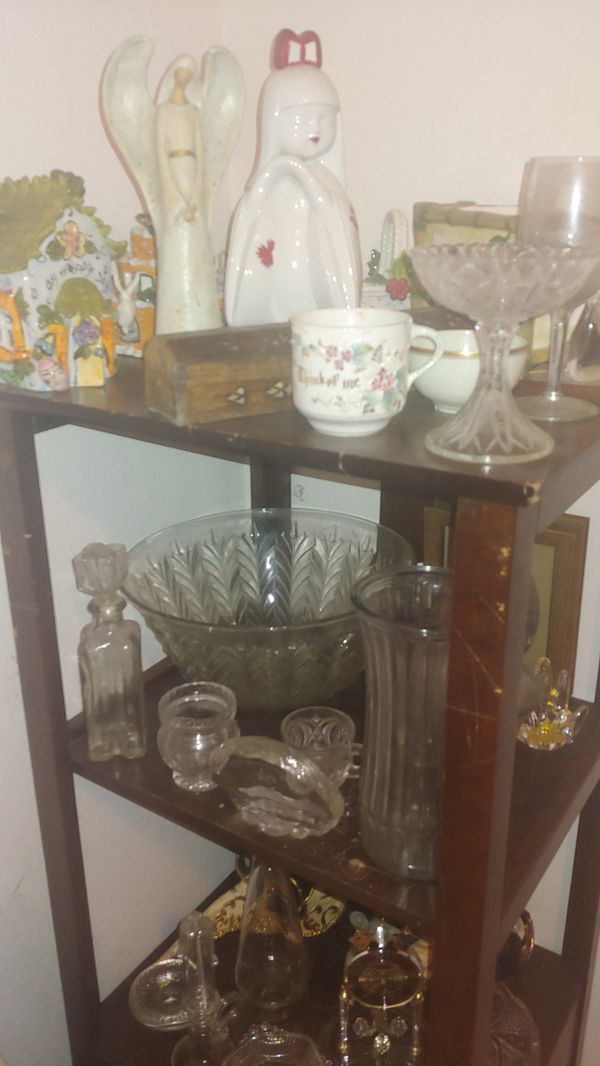 House decor and wooden cabinet shelfs