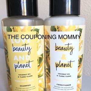 Women's Hair Care Bundle w/ Love Beauty and Planet Repair Shampoo & Conditioner (( 2 bottles )) for Sale in Clovis, CA