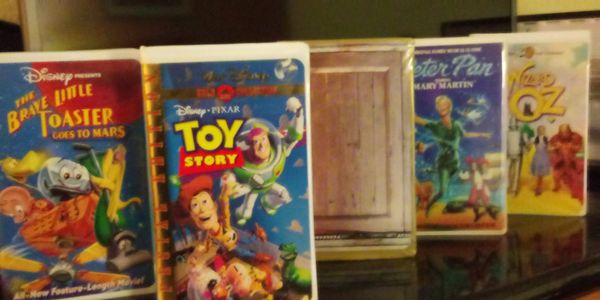 Movies VHS tapes