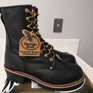 Brand new Georgia Steel Toe work boots Size 10 for Sale in Riverside, CA