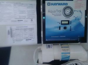 Hayward, Aquarite salt chlorinator with turbocell for Sale in Culleoka, TN