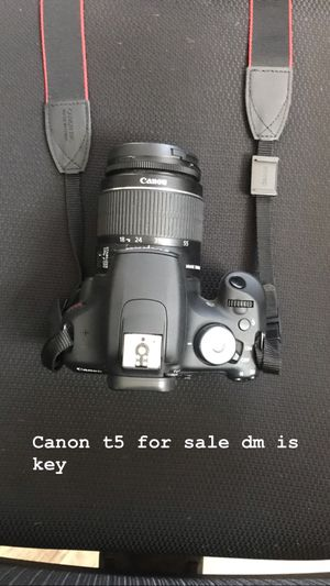 Canon t5 dslr camera for Sale in Long Beach, CA