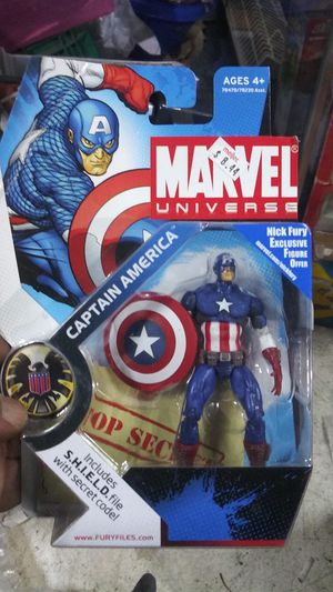 Marvel Universe Captain America for Sale in Dearborn, MI
