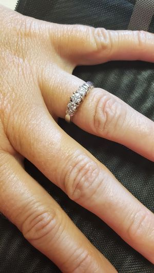 3 Stone Diamond Ring for Sale in Jefferson City, MO