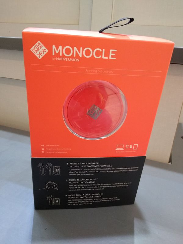 Monocle Speaker (NATIVE UNION)