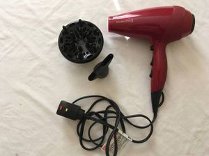 Remington AC9097 Silk Ceramic Ionic AC Professional Hair Dryer (Red) for Sale in Mission, KS