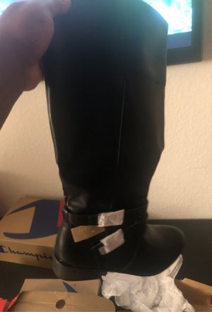 Brand new black boots size 11 for Sale in Mesa, AZ