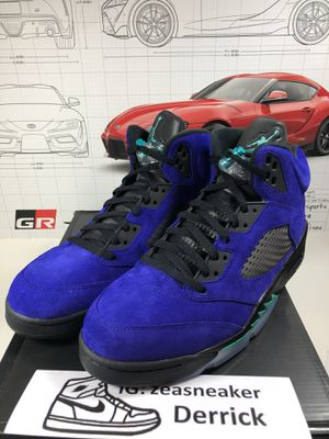 Jordan 5 alternate grape size 13 for Sale in San Gabriel, CA