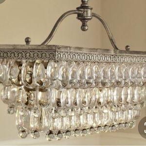 Pottery Barn Clarissa Chandelier - 2 Light for Sale in Auburn, WA