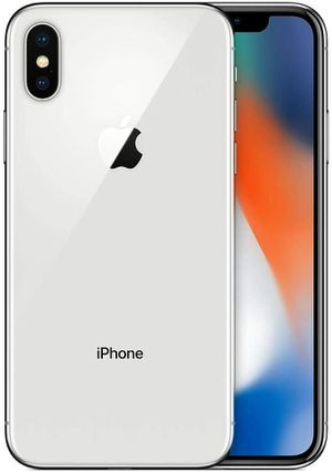 IPhone x white 64gb at&t /cricket for Sale in Phoenix, AZ