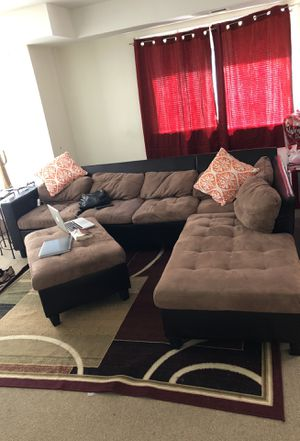 Sectional futon and carpet for sale for Sale in Derwood, MD