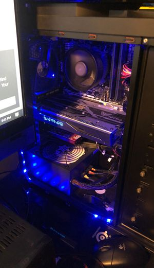 Custom built gaming computer/editing computer for Sale in Mokena, IL