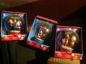 Disney snow globes Grammy for Sale in Cleveland, OH