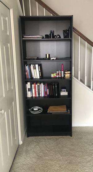 Dark Wood Bookshelf for Sale in Alexandria, VA