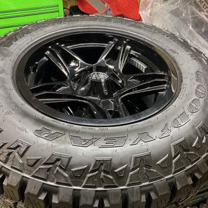 Jeep Wrangler Wheels/Tires(full Set) for Sale in Cleveland, OH