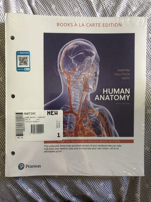 Human Anatomy 9th Edition by Martini, Tallitsch, and Nath for Sale in Chula Vista, CA