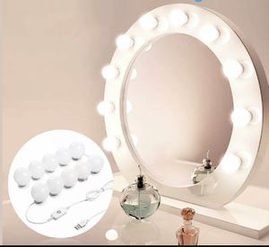 Hollywood Style LED Vanity Mirror Lights Kit for Makeup Dressing 10 Bulbs NEW US for Sale in Pittsburg, CA