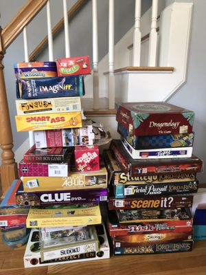 Lord of the Rings and other games and puzzles for Sale in Dedham, MA