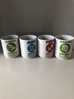 New zodiac mugs for Sale in Chandler, AZ