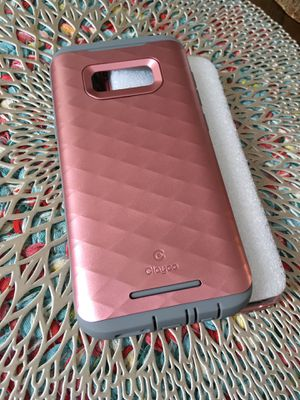 Phone case 360 Samsung galaxy S8plus rosegold grey for Sale in National City, CA