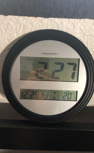 digital clock and alarm for Sale in Miami, FL