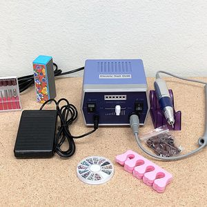 $45 (new in box) electric nail drill for acrylic nails machine file drill set salon manicure kit 22,000 rpm for Sale in Santa Fe Springs, CA