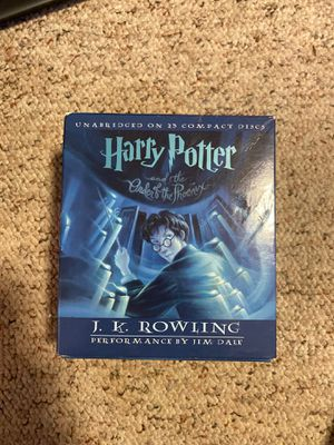 Harry Potter Book 5 Audio Book on CDs for Sale in Burlington, CT