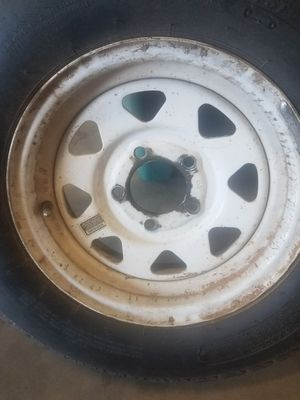 Trailer trim and tire for Sale in Gilbert, AZ