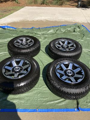 4runner TRD off-road/trail wheels and tires for Sale in Mount Pleasant, SC