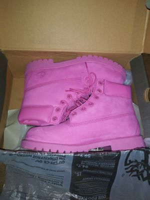 Pink Timberland Boots, Brand new size 7 for Sale in Tampa, FL