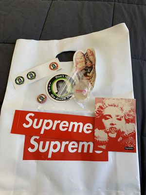 Supreme accessory kit off white Nike bape box logo adidas hype for Sale in Portland, OR